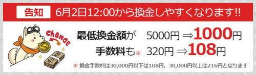 sagoooワークス 1000円から換金可能